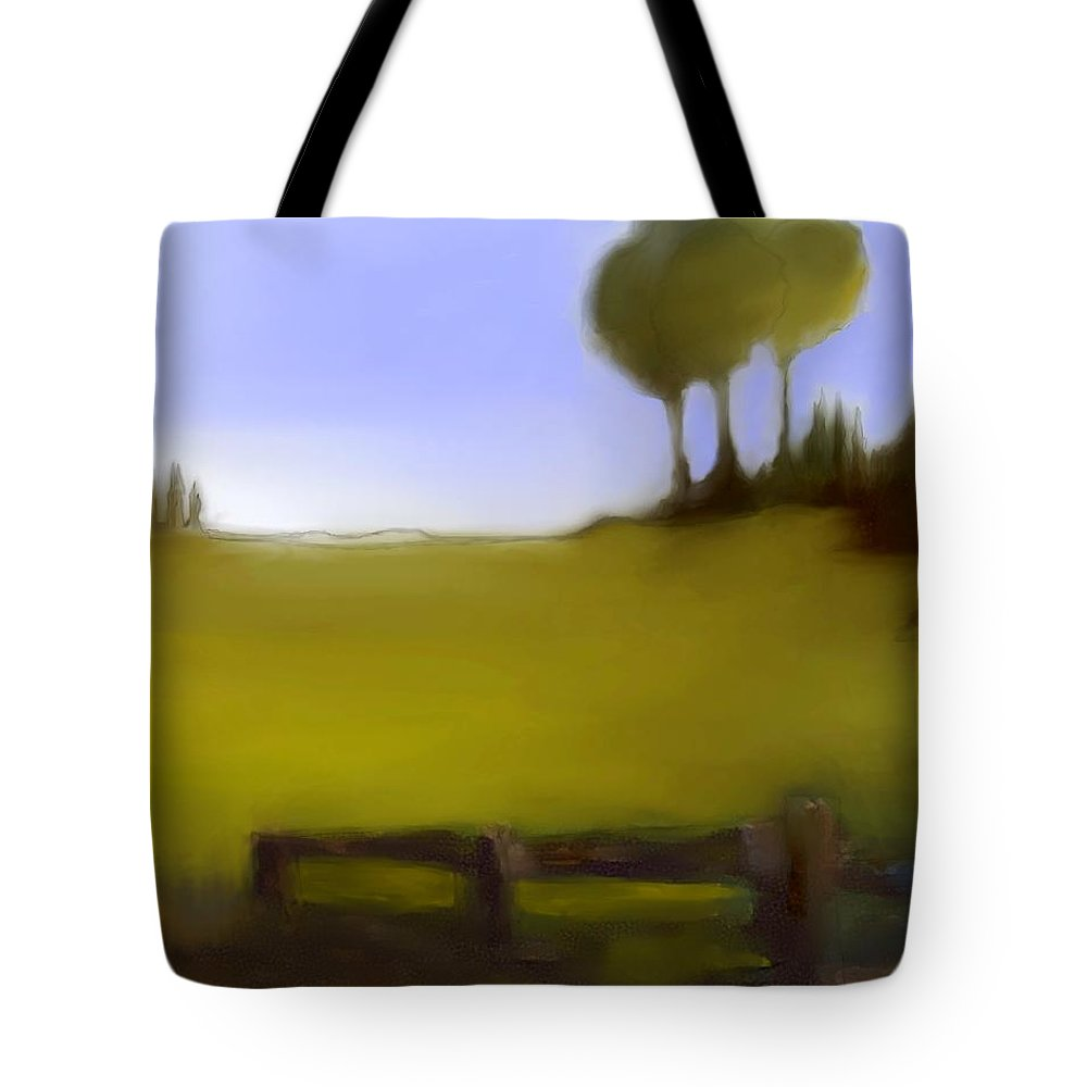 Fineartamerica.com Tote Bag featuring the digital art Duxbury Golf Course Number 4-4 by Diane Strain