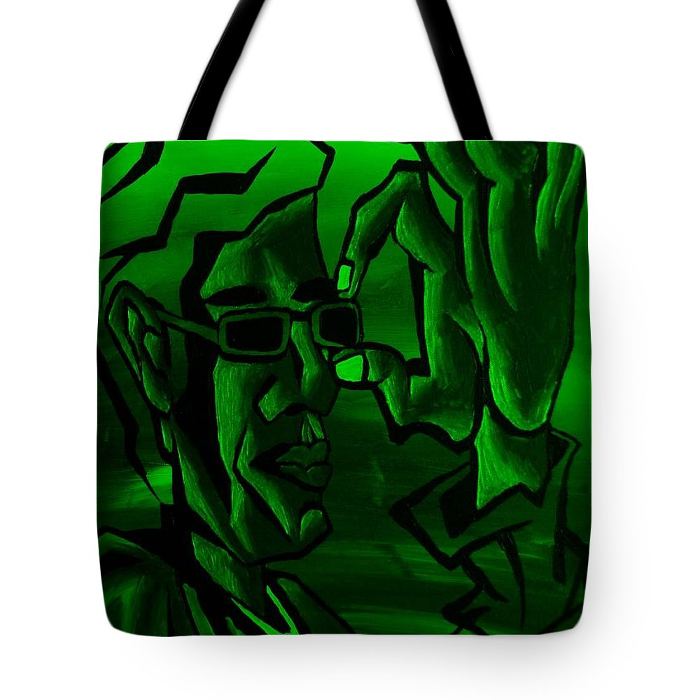 Portrait Tote Bag featuring the photograph E Vincent Green by Rob Hans