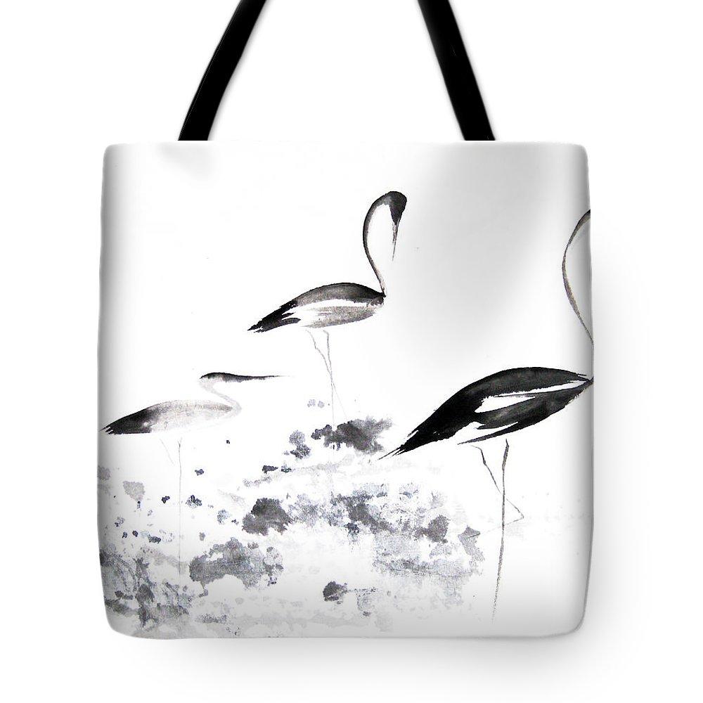 Crane Tote Bags