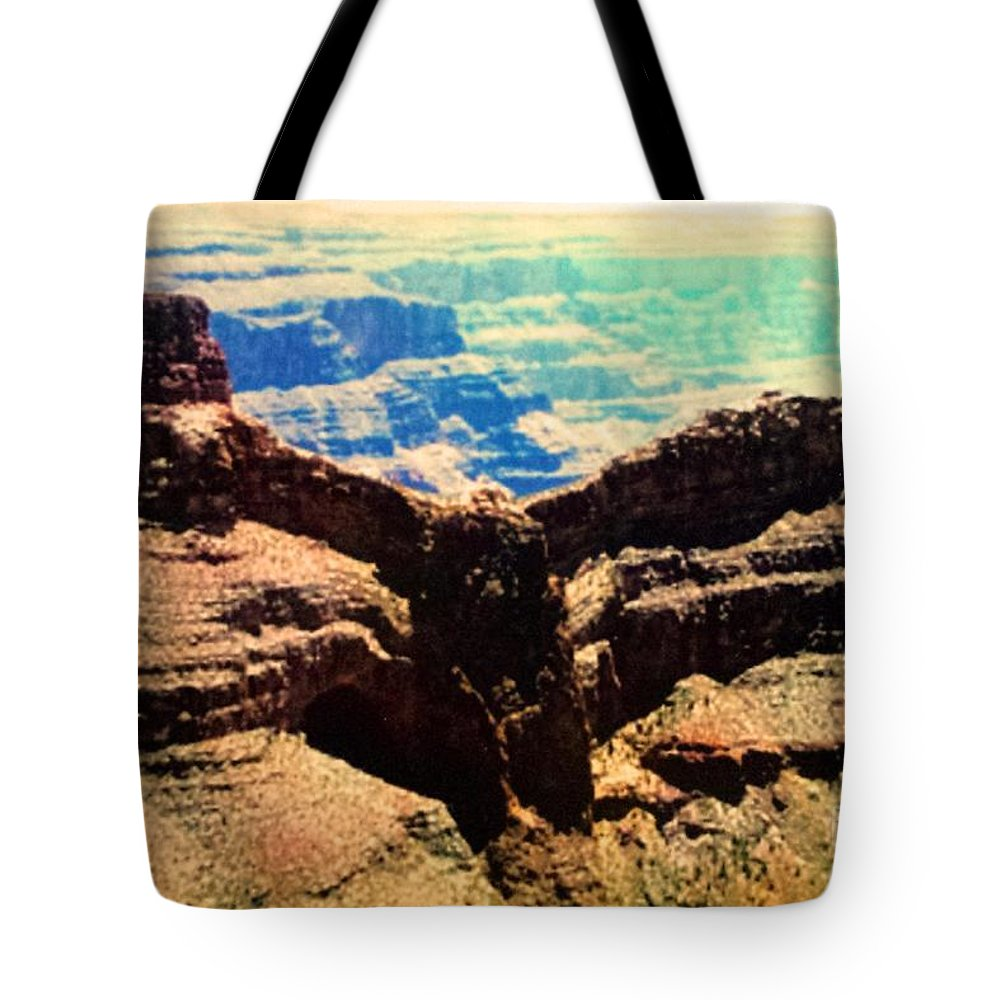 Eagle Tote Bag featuring the photograph Eagle Point by Lisa Byrne