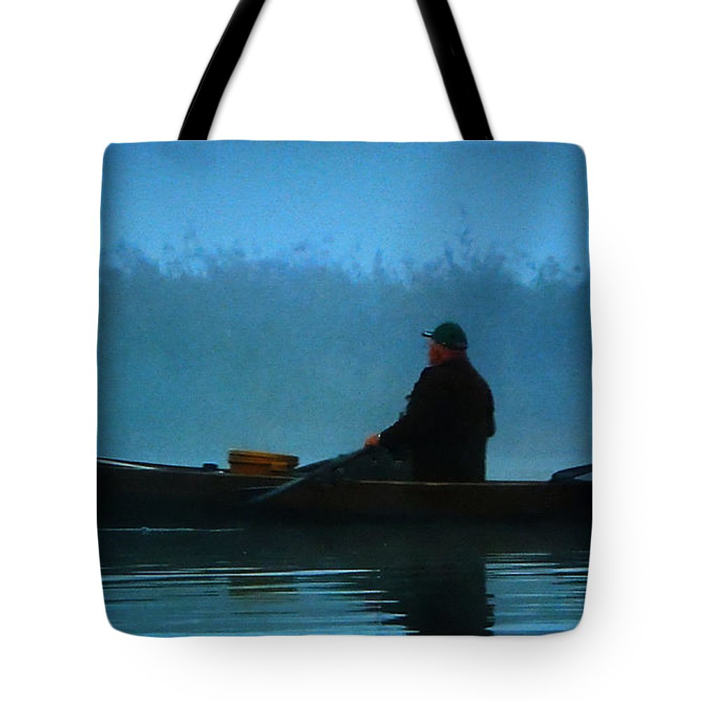 Colette Tote Bag featuring the photograph Early Morning Lake Joy by Colette V Hera Guggenheim