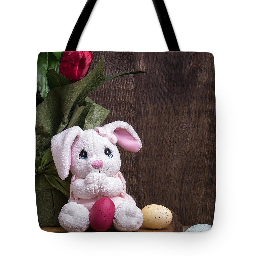 Easter Tote Bag featuring the photograph Easter Bunny by Edward Fielding