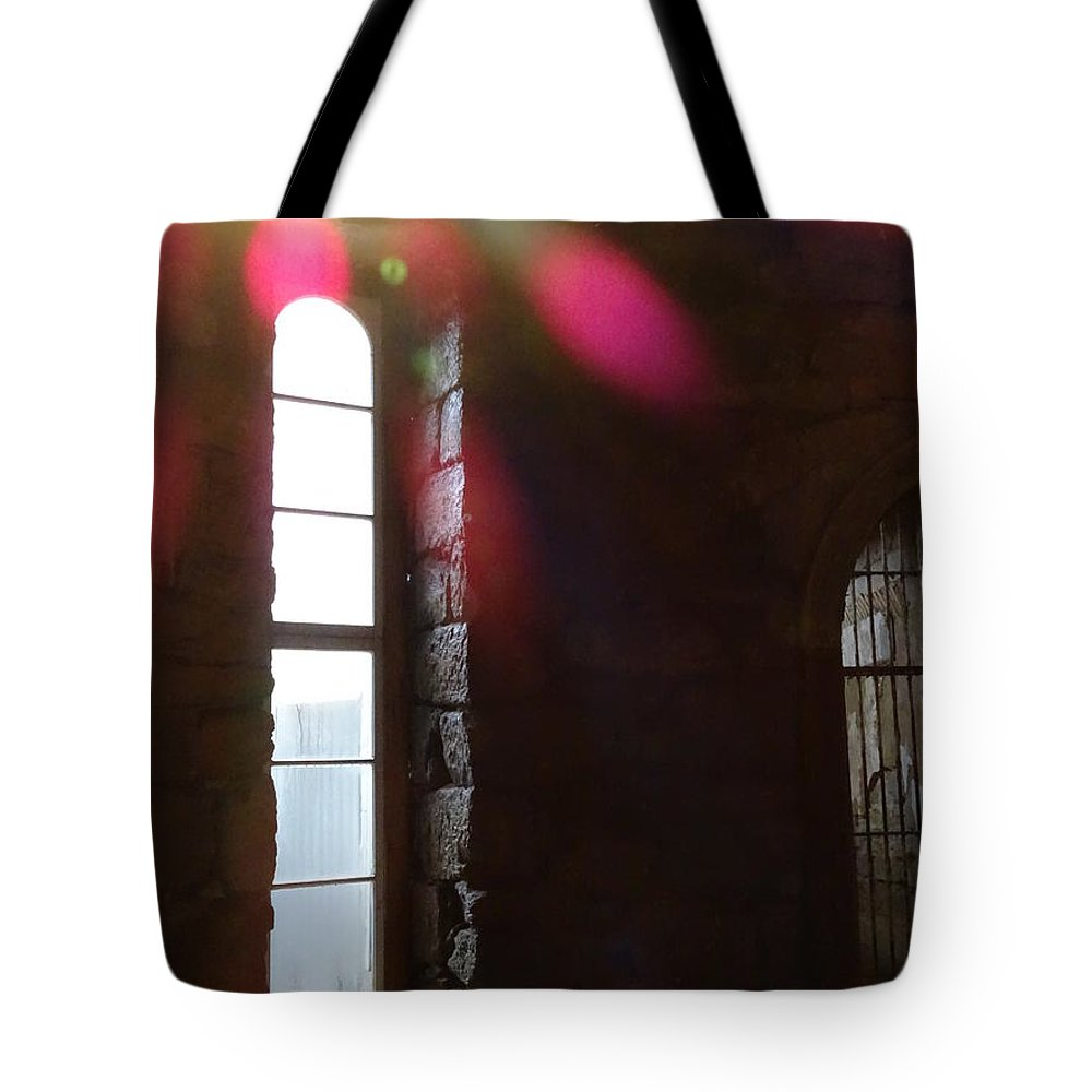 Eastern State Penitentiary Tote Bag featuring the photograph Eastern State Penitentiary 9 by Heather Jane