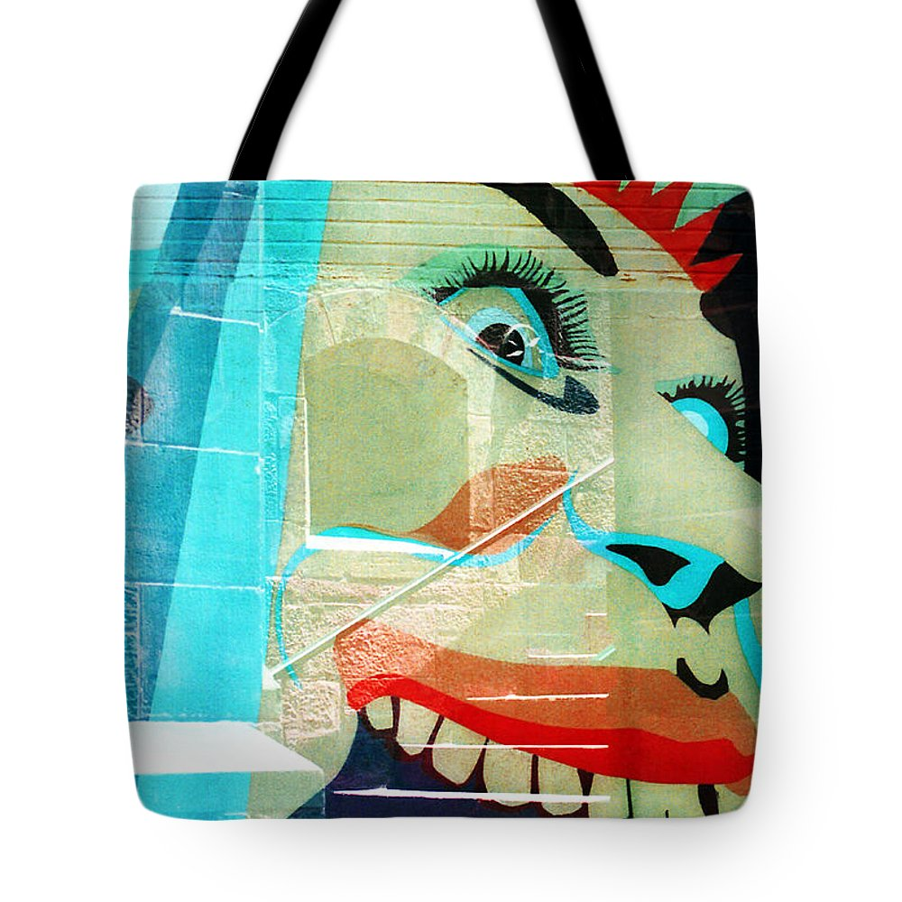 New York City Tote Bag featuring the photograph Eating The Stairs Up by Rosie McCobb