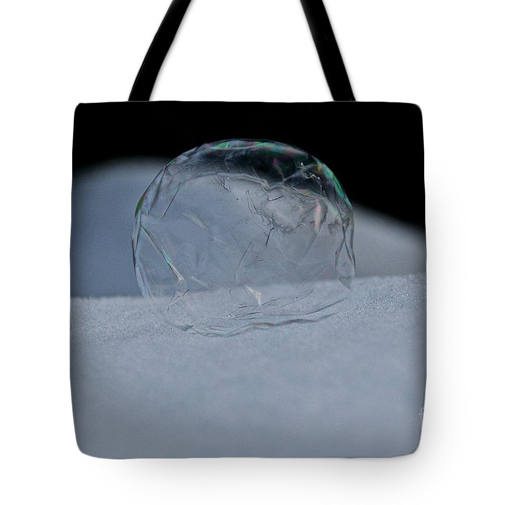 Ice Tote Bag featuring the photograph Eco System by Susan Herber