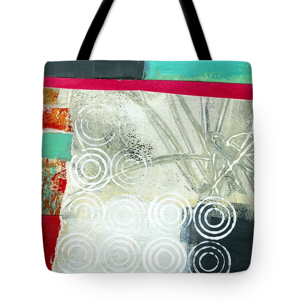 4x4 Tote Bag featuring the painting Edge 51 by Jane Davies