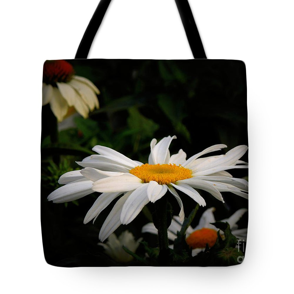 Flower Tote Bag featuring the photograph Edge Of The Woods by Renee Trenholm