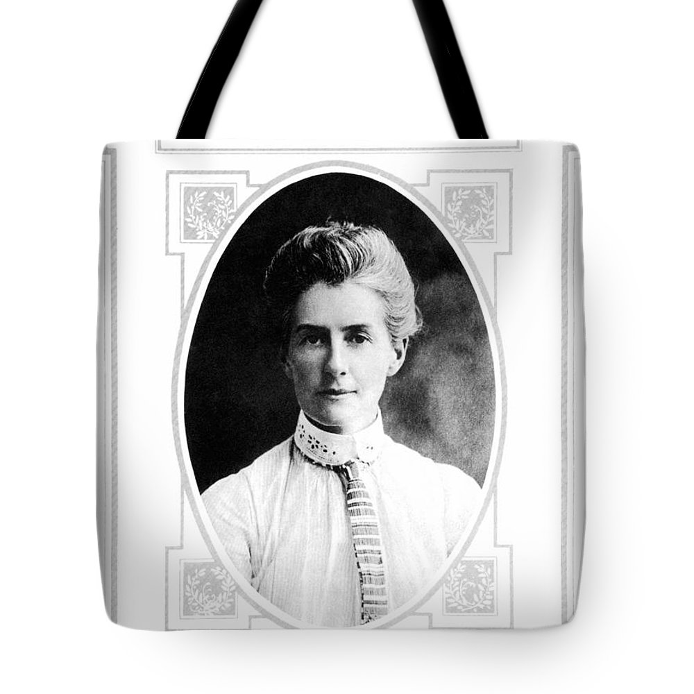 1915 Tote Bag featuring the photograph Edith Cavell (1865-1915) by Granger