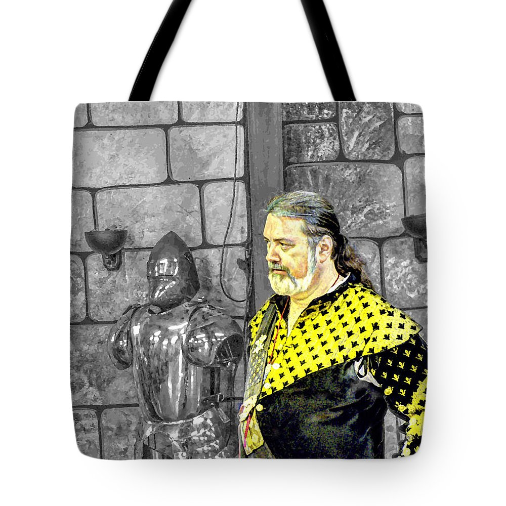 Portrait Tote Bag featuring the photograph Edward I V Of England by John Straton