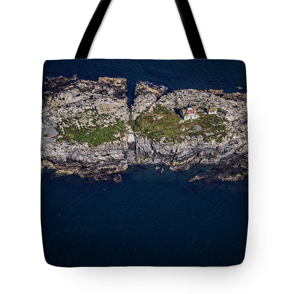 Maine Tote Bag featuring the photograph Egg Rock Lighthouse by Rick Berk