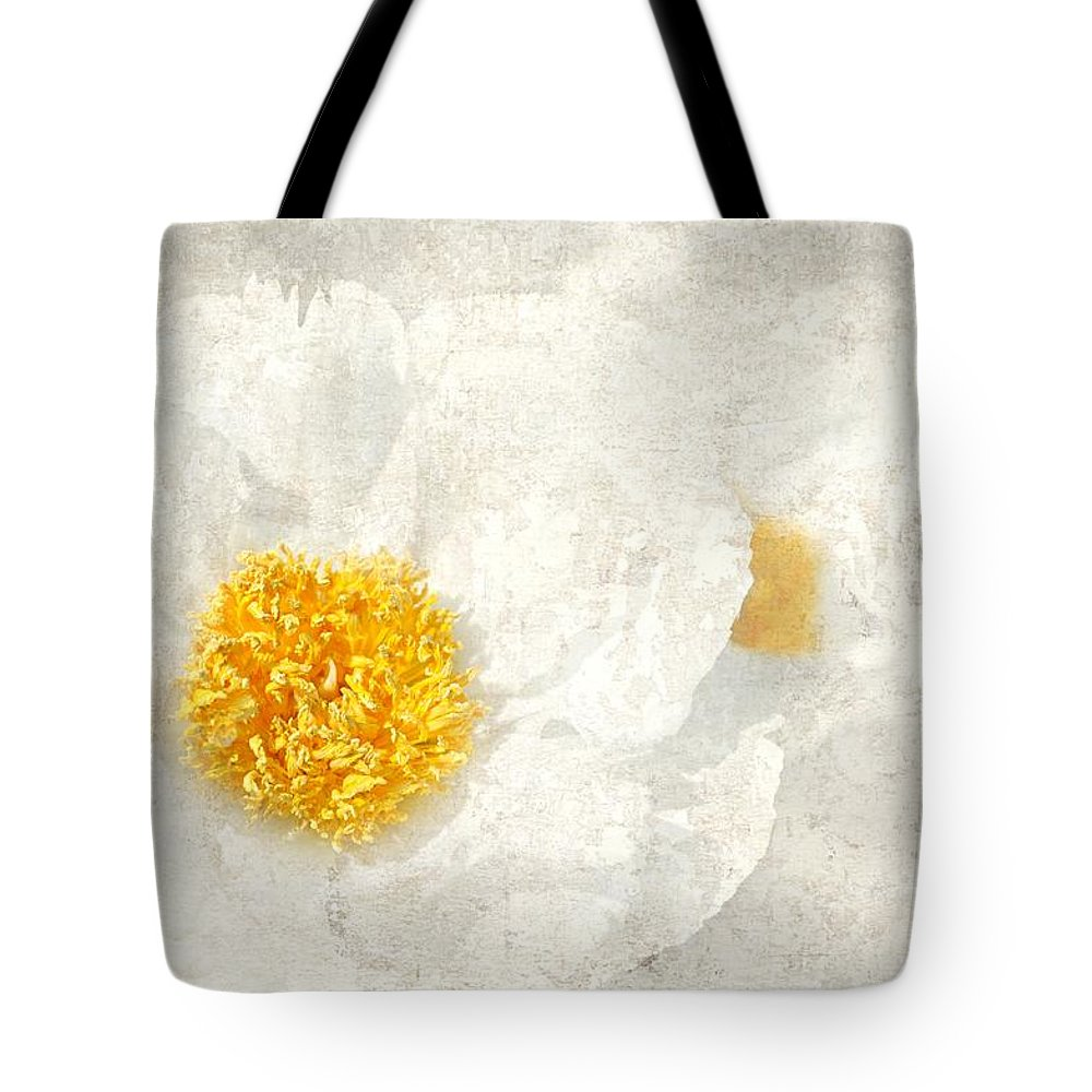 Flowers Tote Bag featuring the photograph Egg Whites by Diana Angstadt
