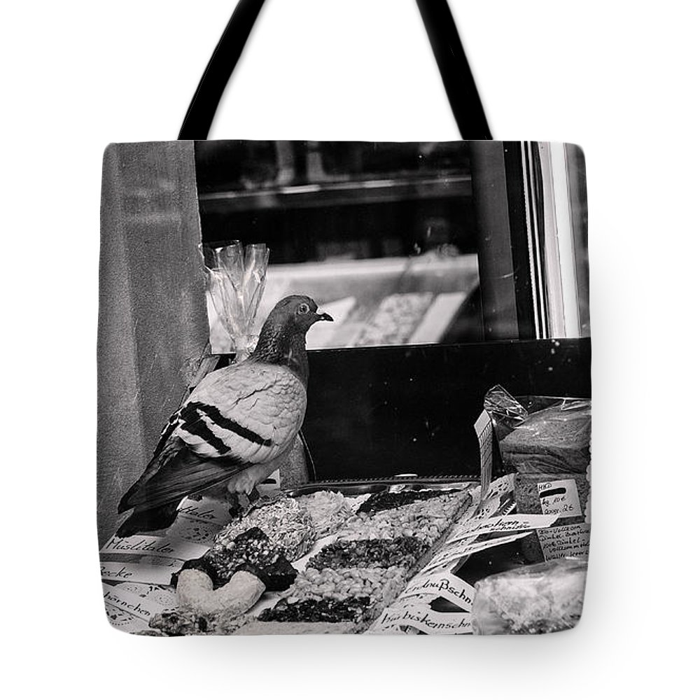 Cold Tote Bag featuring the photograph Ein Rosinenbrotchen Bitte by TouTouke A Y