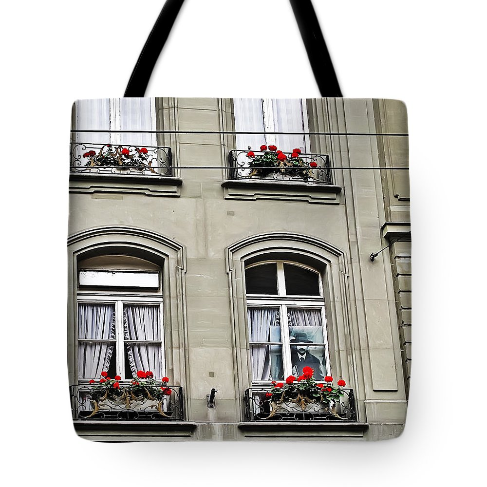 Travel Tote Bag featuring the photograph Einstein House by Elvis Vaughn