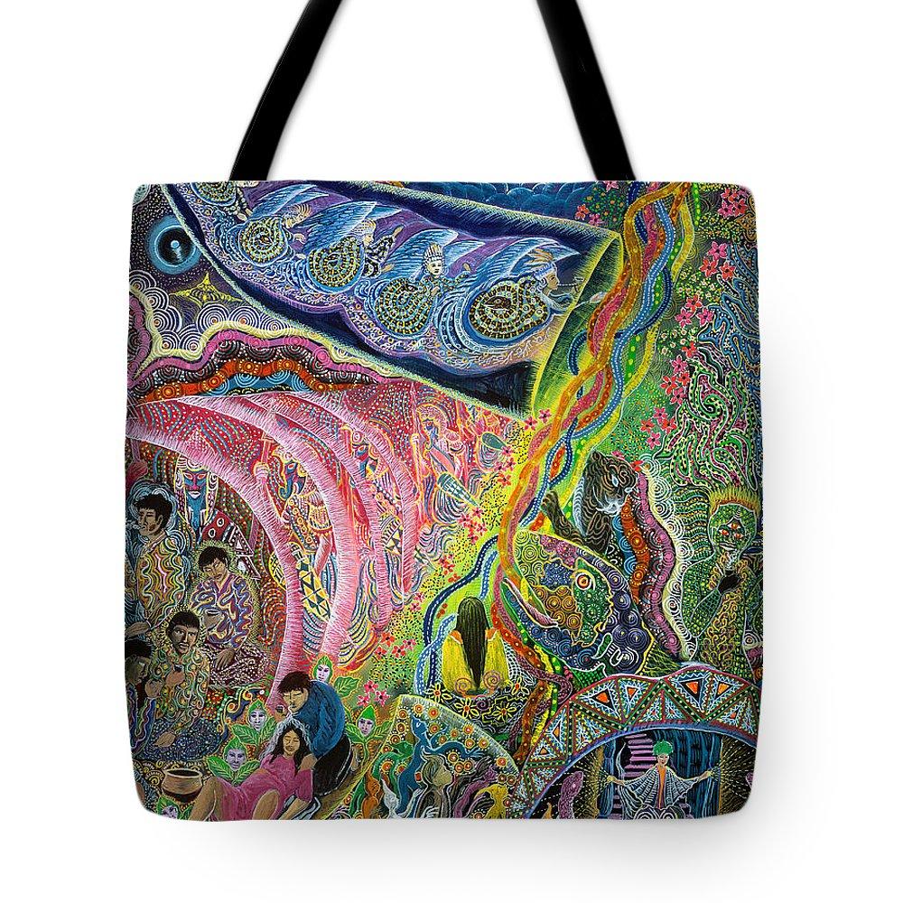 Tote Bag - Painted I by VIDA VIDA CVc2ilhWQ