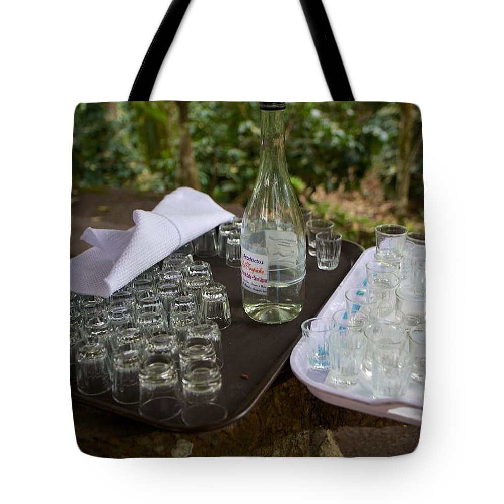 Cane Moonshine Tote Bag featuring the photograph El Trapiche Moonshine by Allan Morrison