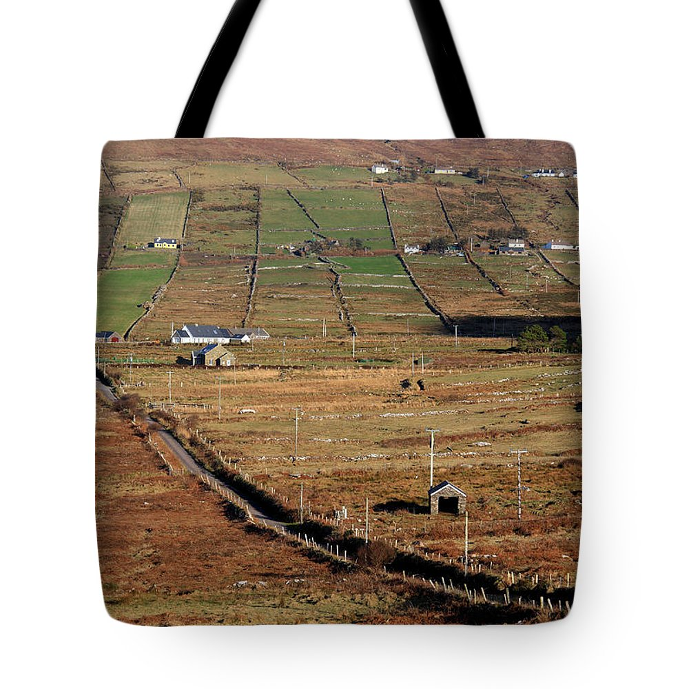 Ireland Tote Bag featuring the photograph Electric Landscape by Aidan Moran