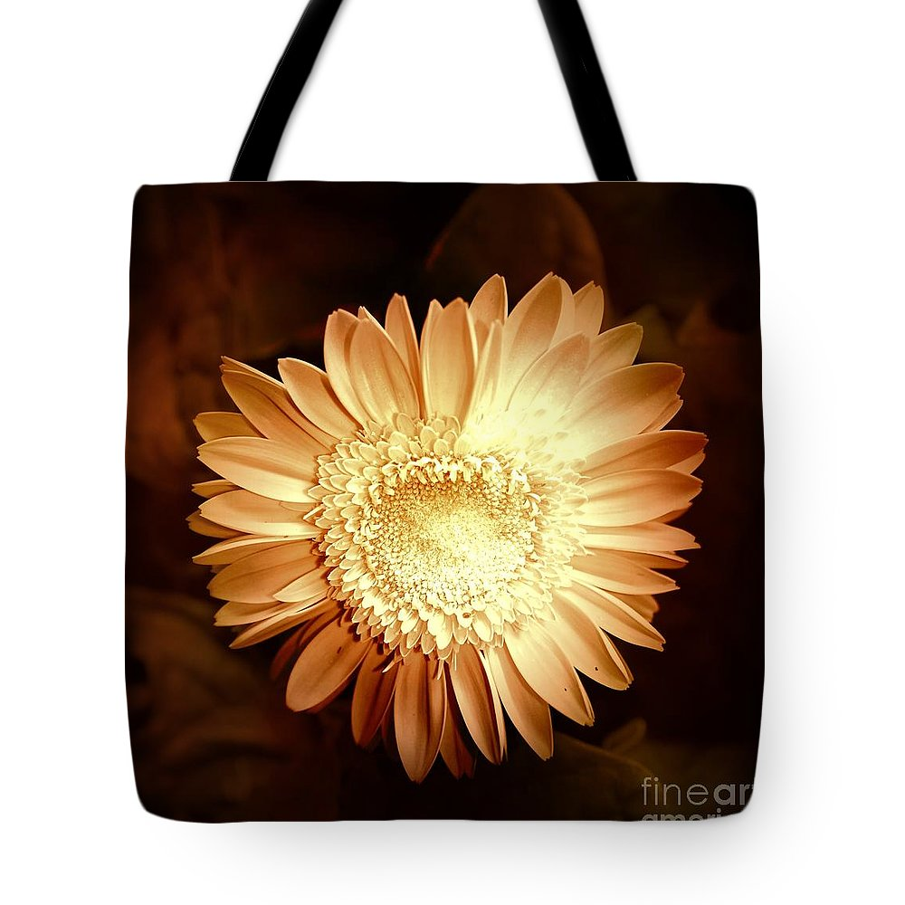 Elegant Tote Bag featuring the photograph Elegant Flower by Denise Tomasura
