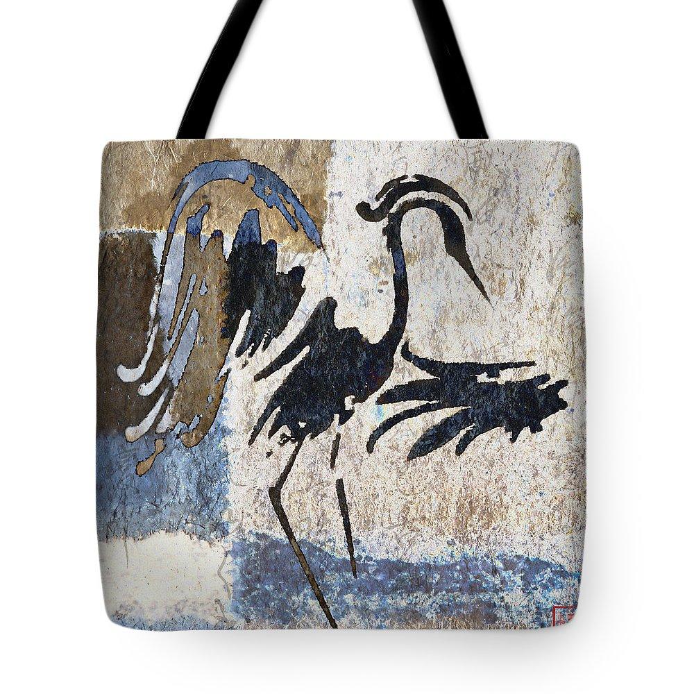 Crane Photographs Tote Bags
