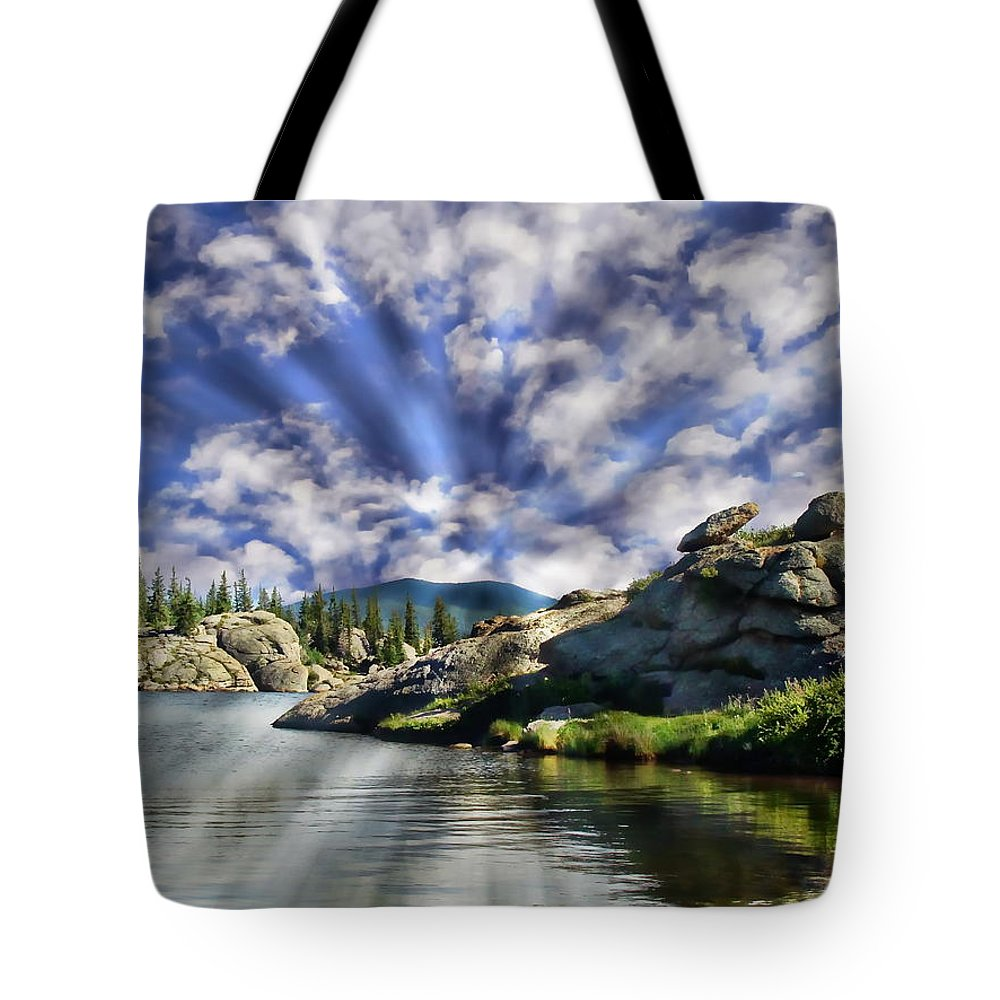 Forest Tote Bag featuring the photograph Colorado Landscape by Anthony Dezenzio