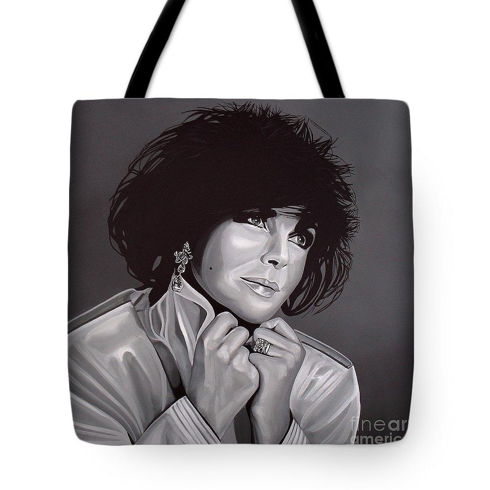 Elizabeth Taylor Tote Bags