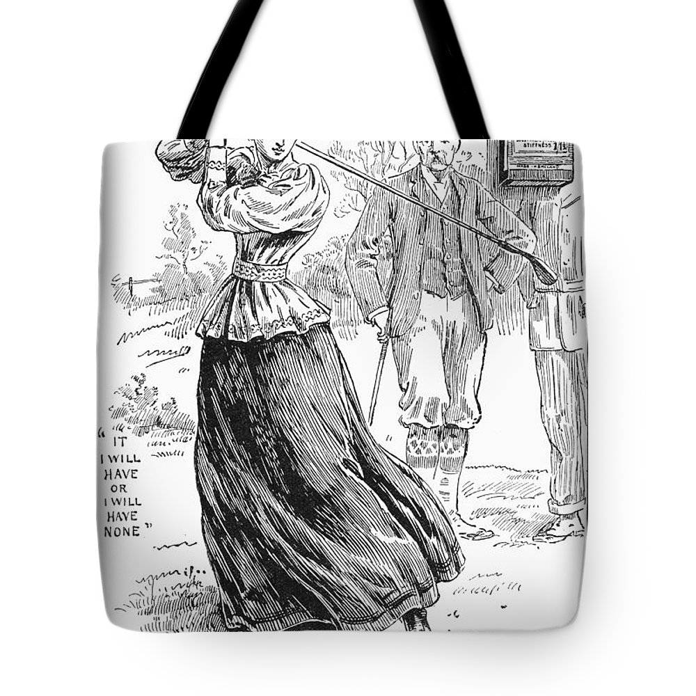 1895 Tote Bag featuring the photograph Ellimans Remedy, 1895 by Granger