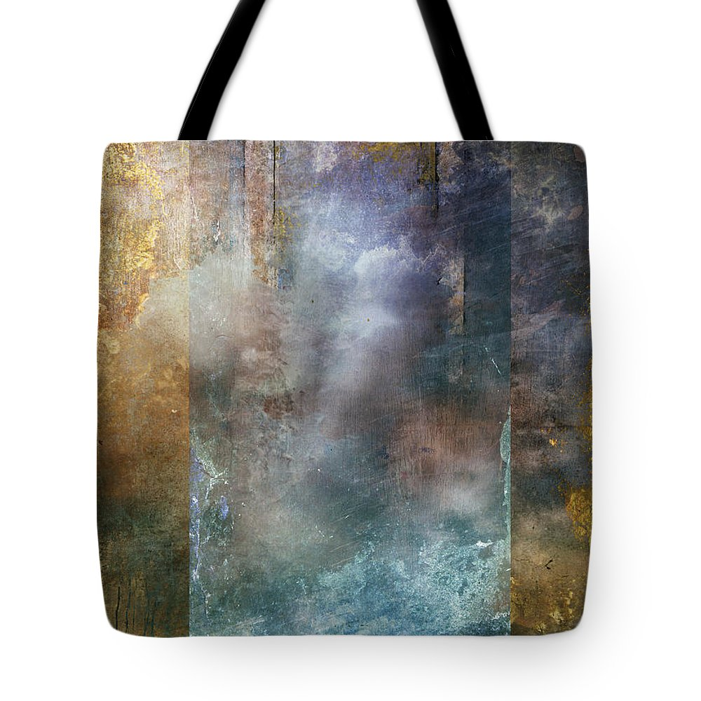 Abstract Tote Bag featuring the digital art Elsewhere by Aimee Stewart