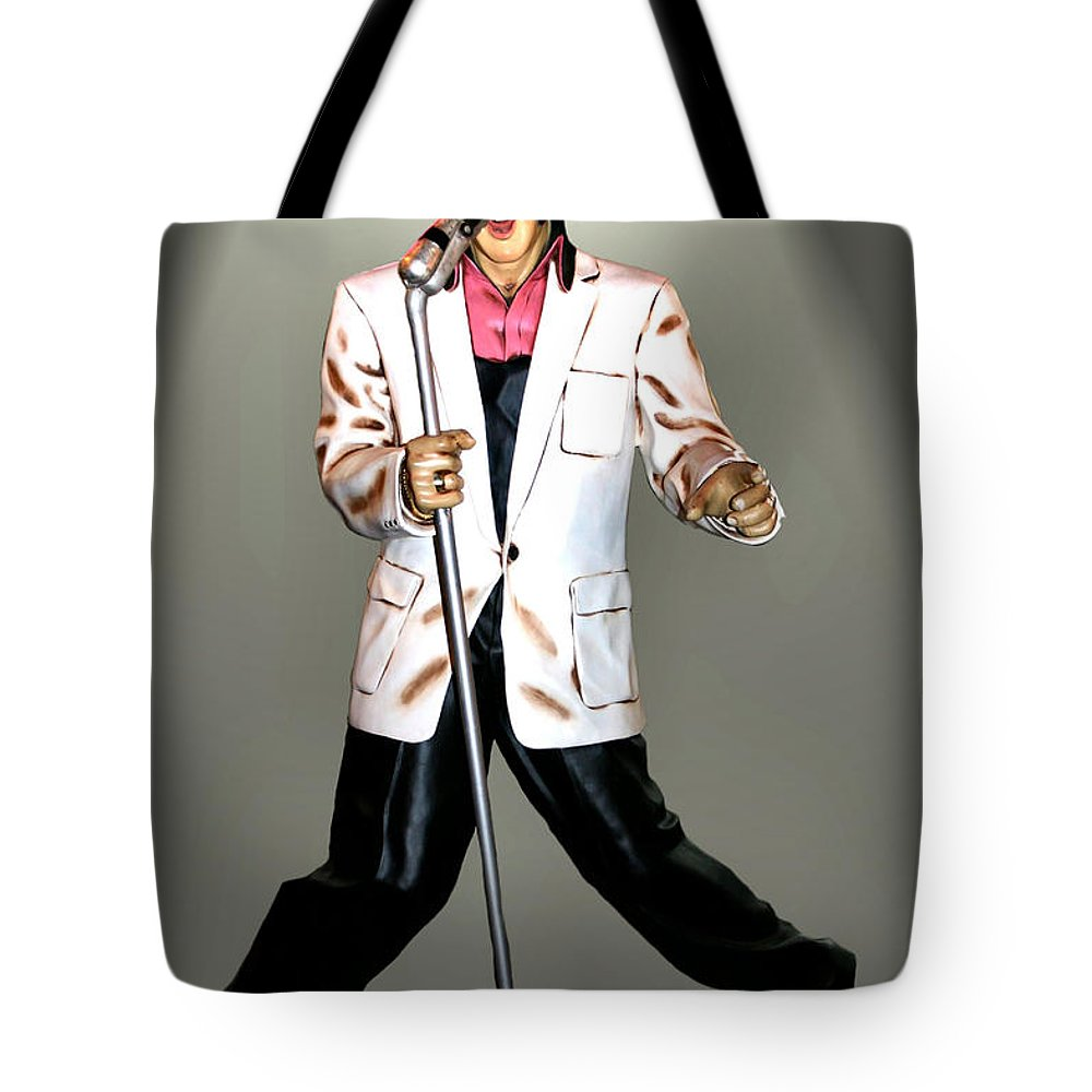 Elvis Tote Bag featuring the photograph Elvis by Kristin Elmquist