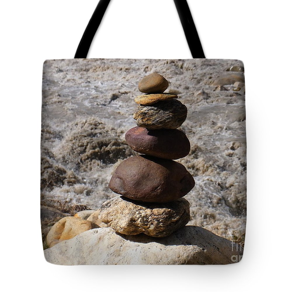 India Tote Bag featuring the photograph Endless Flow Meditation by Agnieszka Ledwon