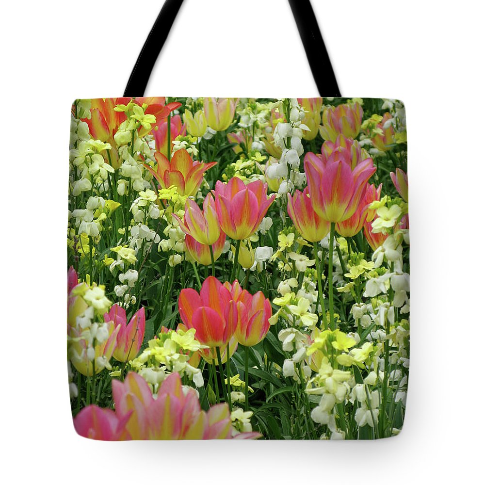 Spring Tote Bag featuring the photograph English Spring by Ann Horn
