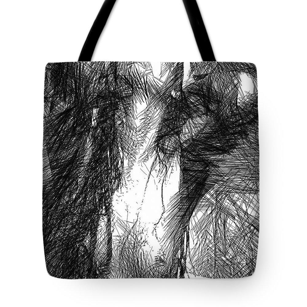 Art Tote Bag featuring the digital art Enjoy The Feeling by Rafael Salazar