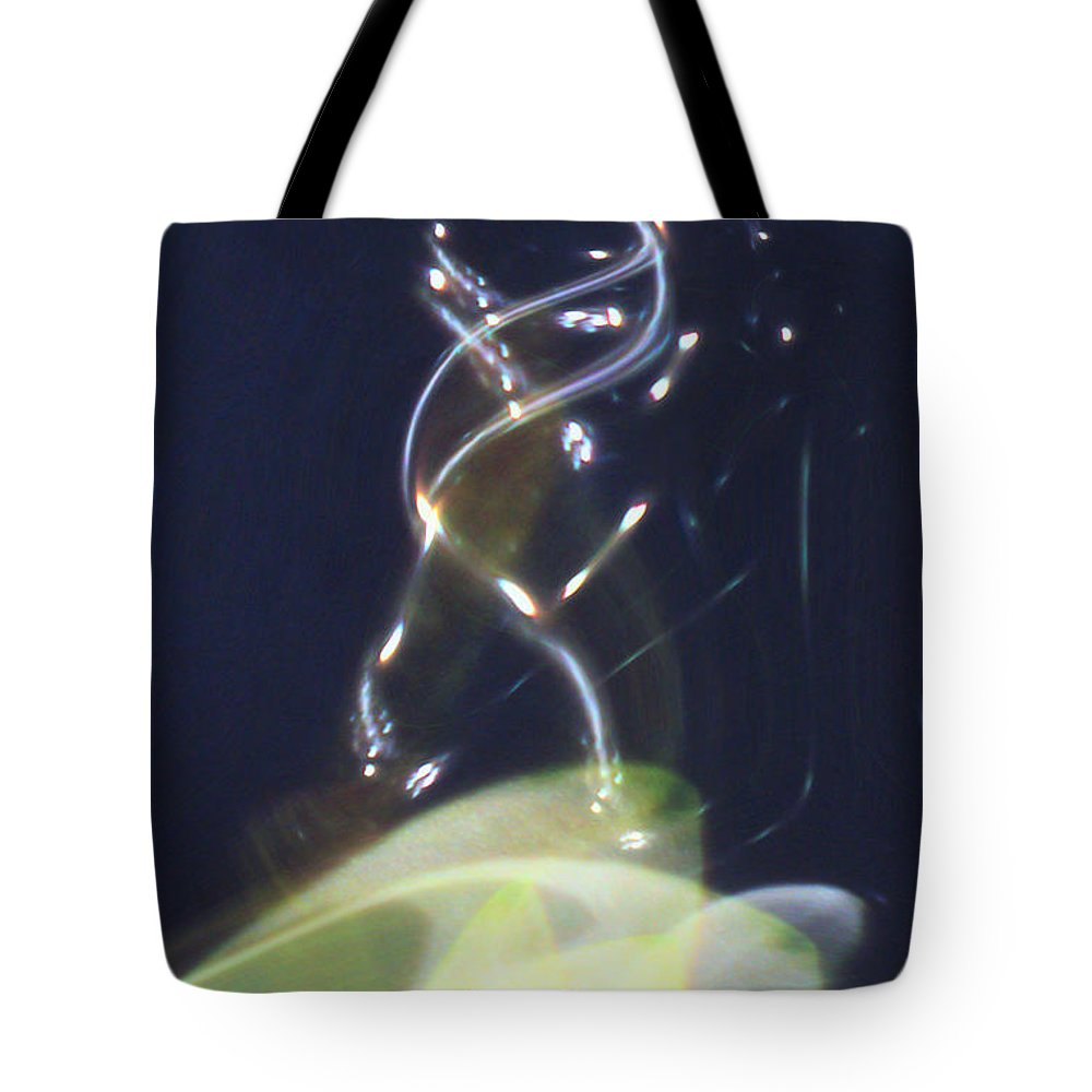 Abstract Tote Bag featuring the digital art Enlightenment by Richard Thomas