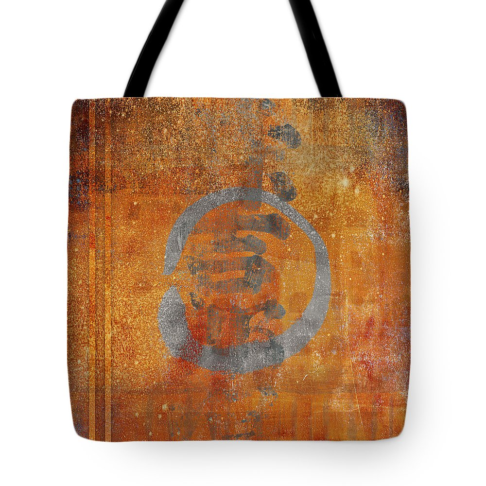 Enso Tote Bag featuring the photograph Enso Circle by Carol Leigh
