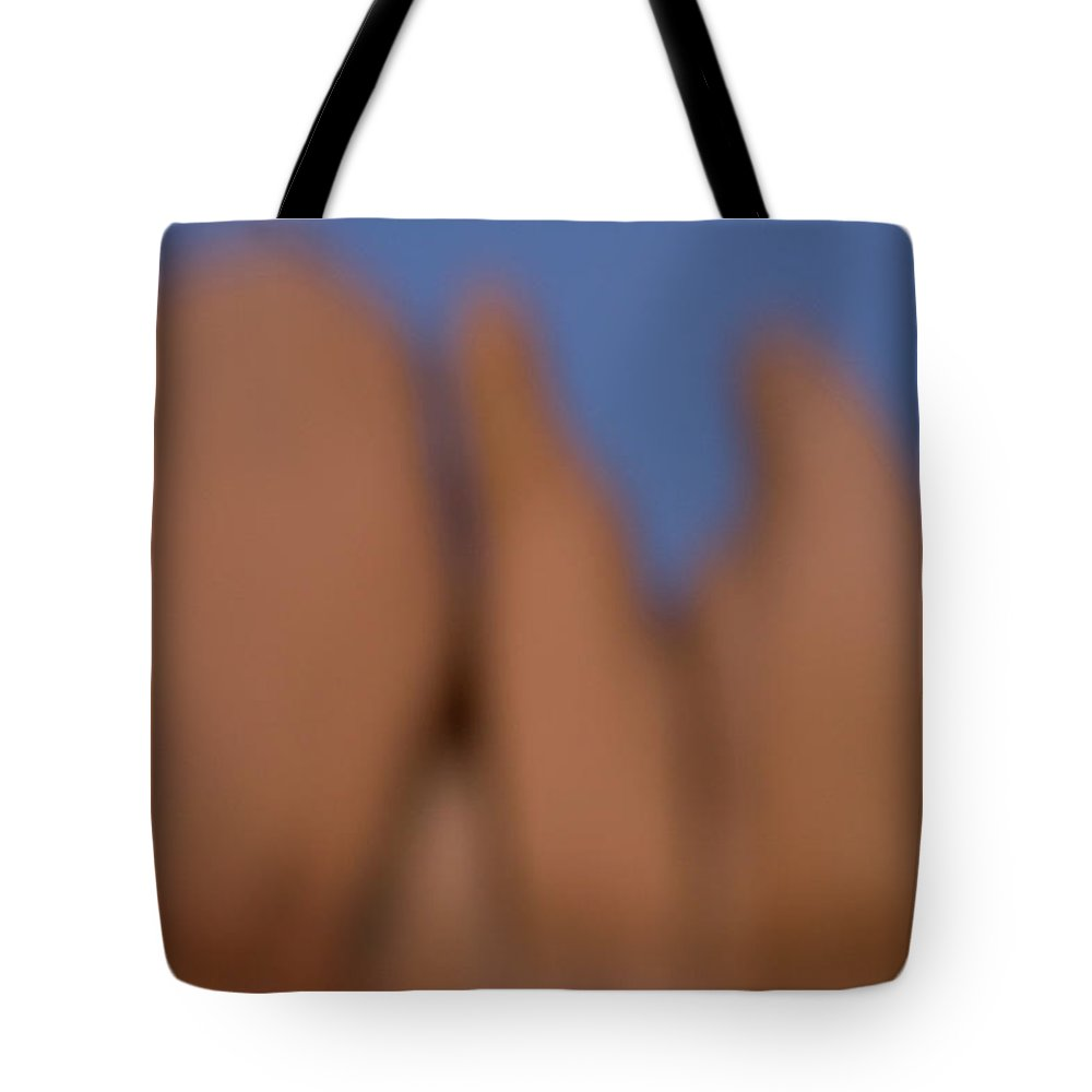 Arid Tote Bag featuring the photograph Eroded Granite Rocks At Joshua Tree by Phil Schermeister