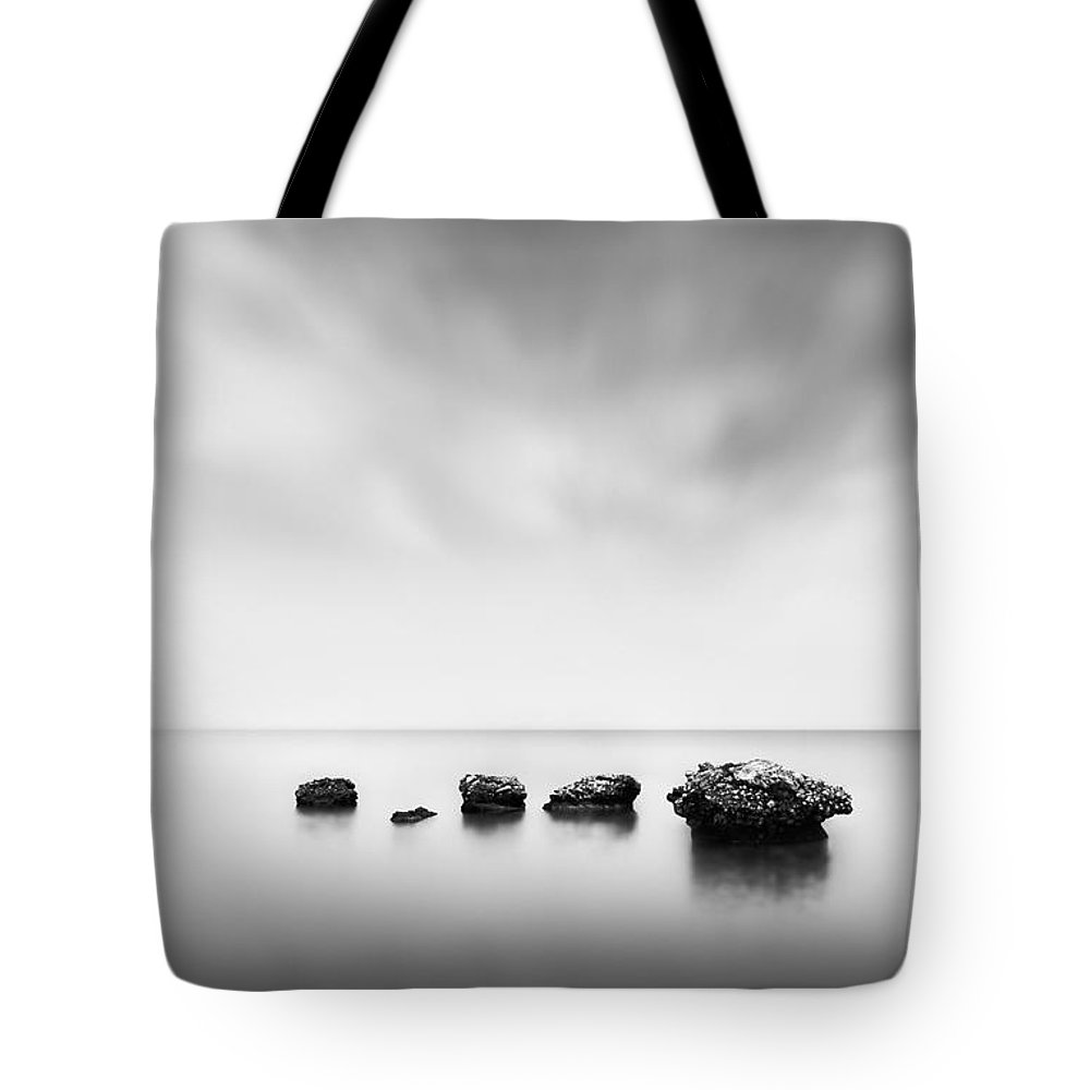 Stones Tote Bag featuring the photograph Erosion by Rod McLean
