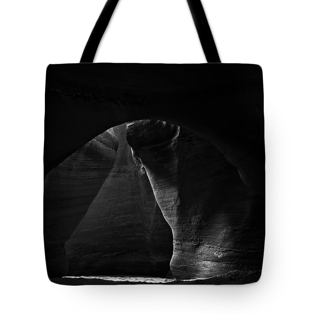 Abstract Tote Bag featuring the photograph Escalante 059 by Ingrid Smith-Johnsen