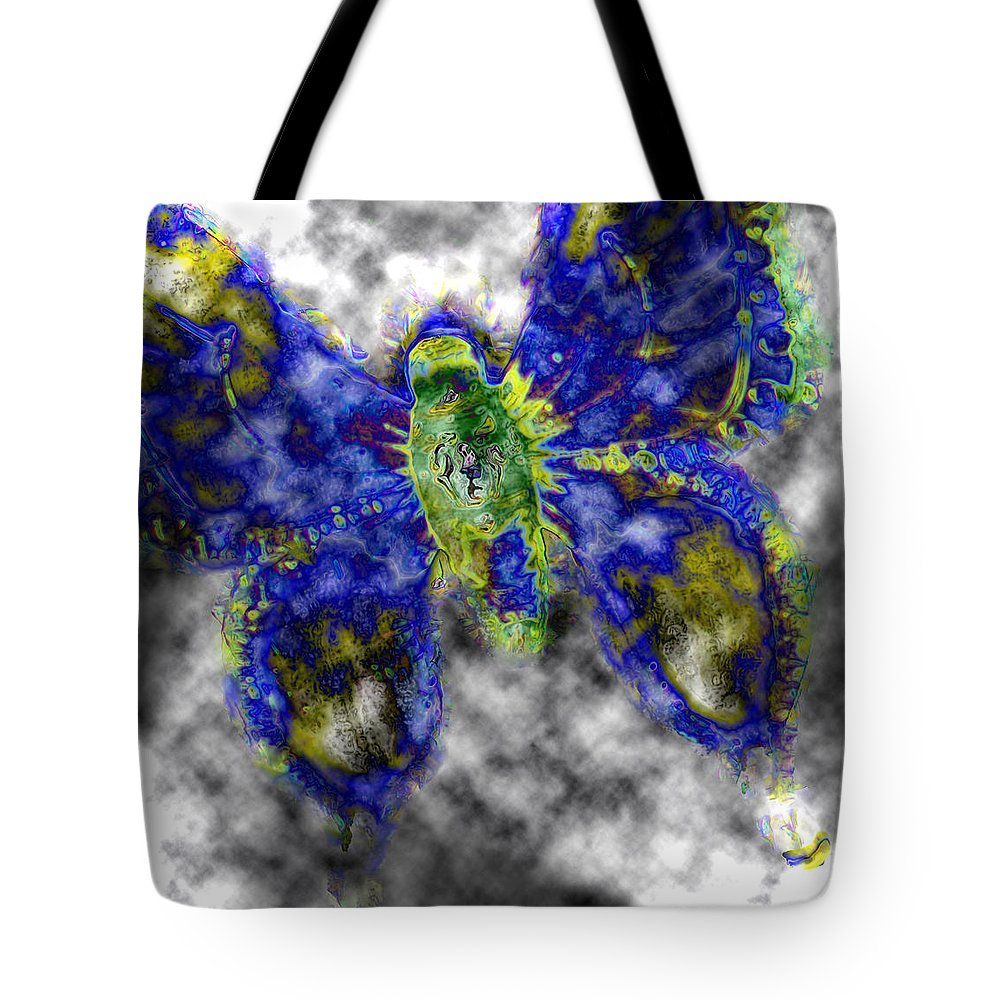 Butterfly Tote Bag featuring the photograph Escape Altitude by Lisa Brandel
