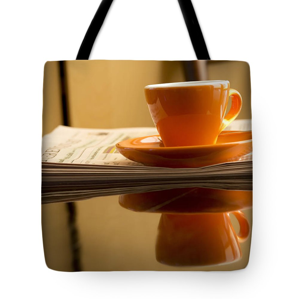 Coffee Tote Bag featuring the photograph Espresso by Chevy Fleet