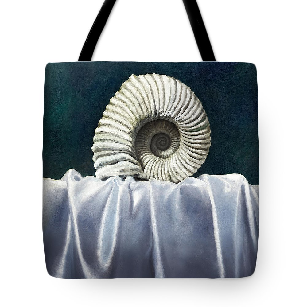 Still Life Paintings Tote Bag featuring the painting Eternal by Anthony Enyedy