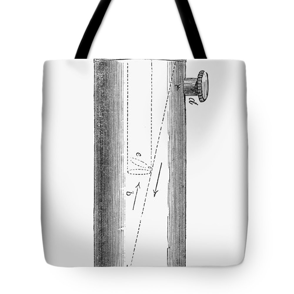 1847 Tote Bag featuring the photograph Ether Inhaler, 1847 by Granger