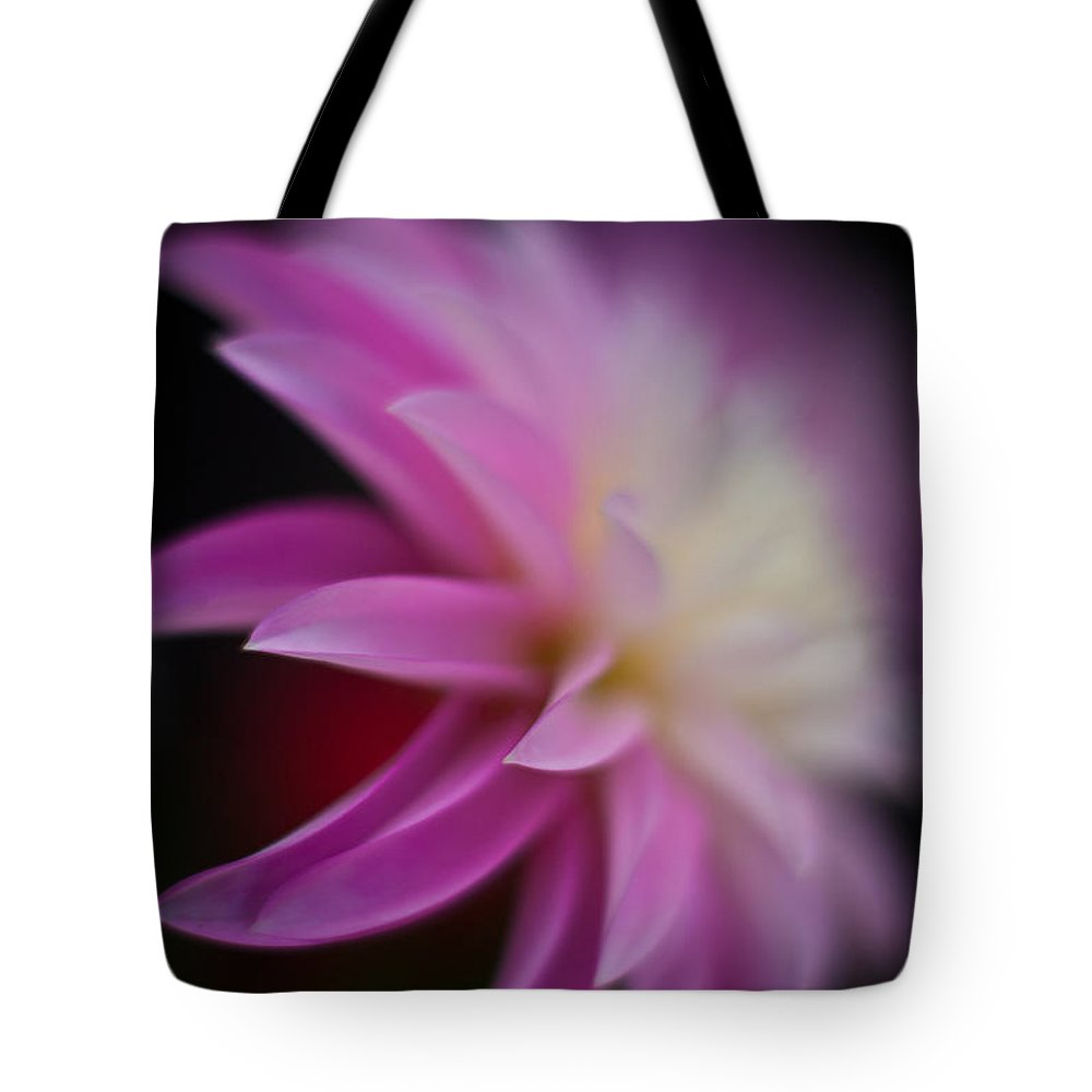 Dahlias Tote Bag featuring the photograph Ethereal Dahlia by Mike Reid