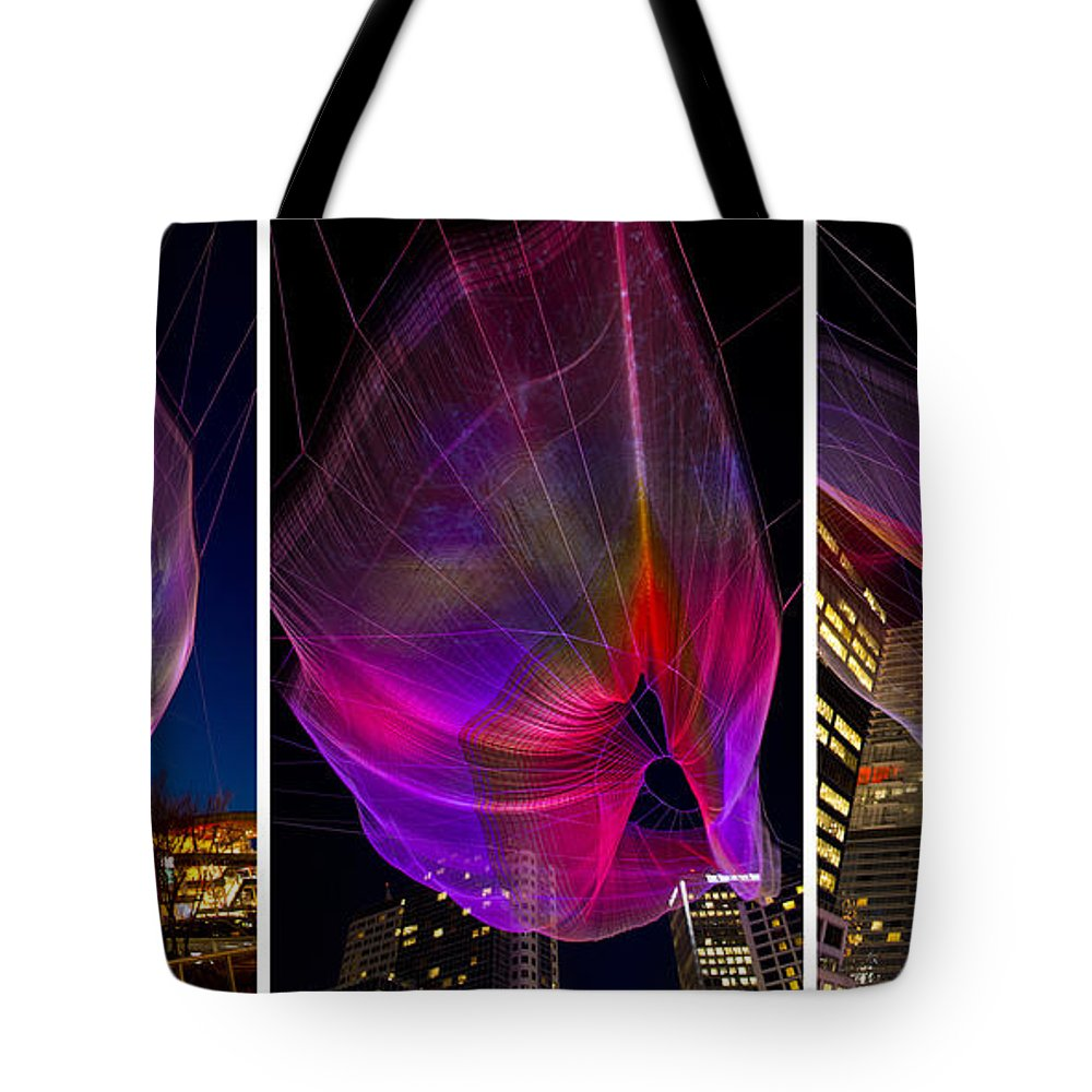 Aerial Sculpture Tote Bag featuring the photograph Ethereal by Doug Matthews