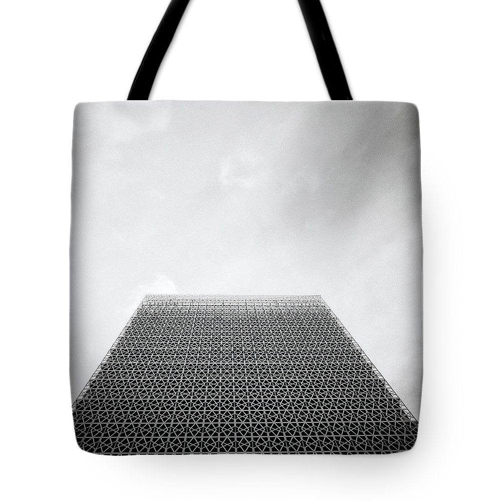 Putrajaya Tote Bag featuring the photograph Ethereal Sky by Shaun Higson