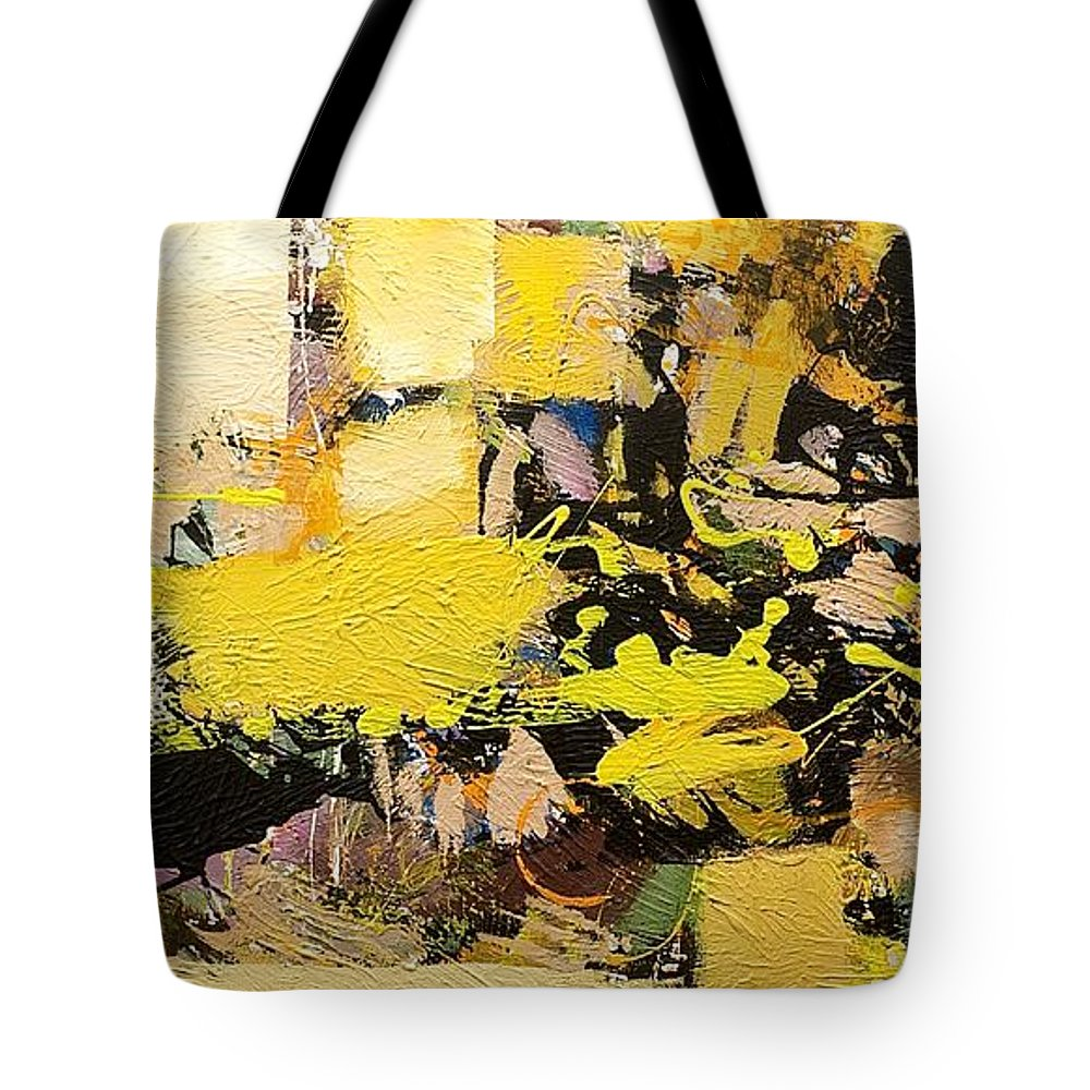 Landscape Tote Bag featuring the painting Euclid by Allan P Friedlander