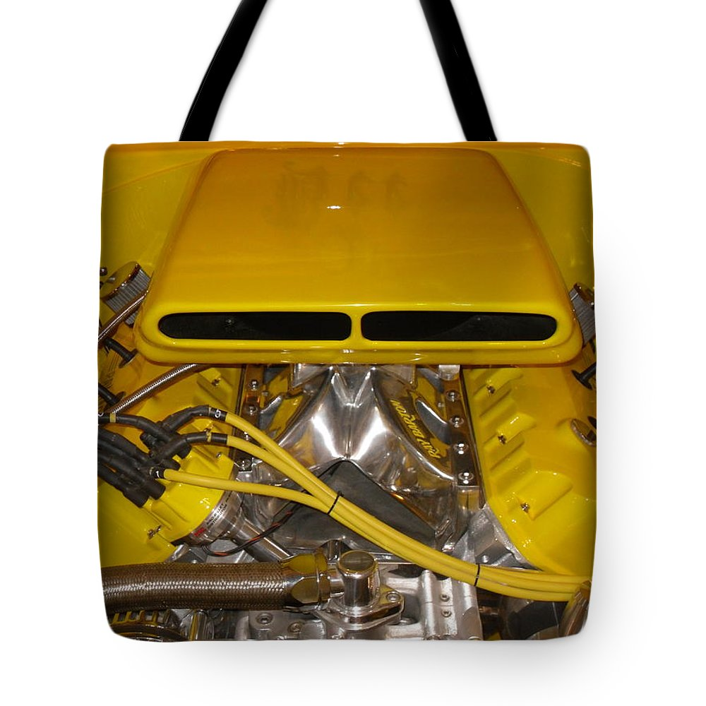 Sports Car Tote Bag featuring the photograph Even Faster by Joe Hamilton