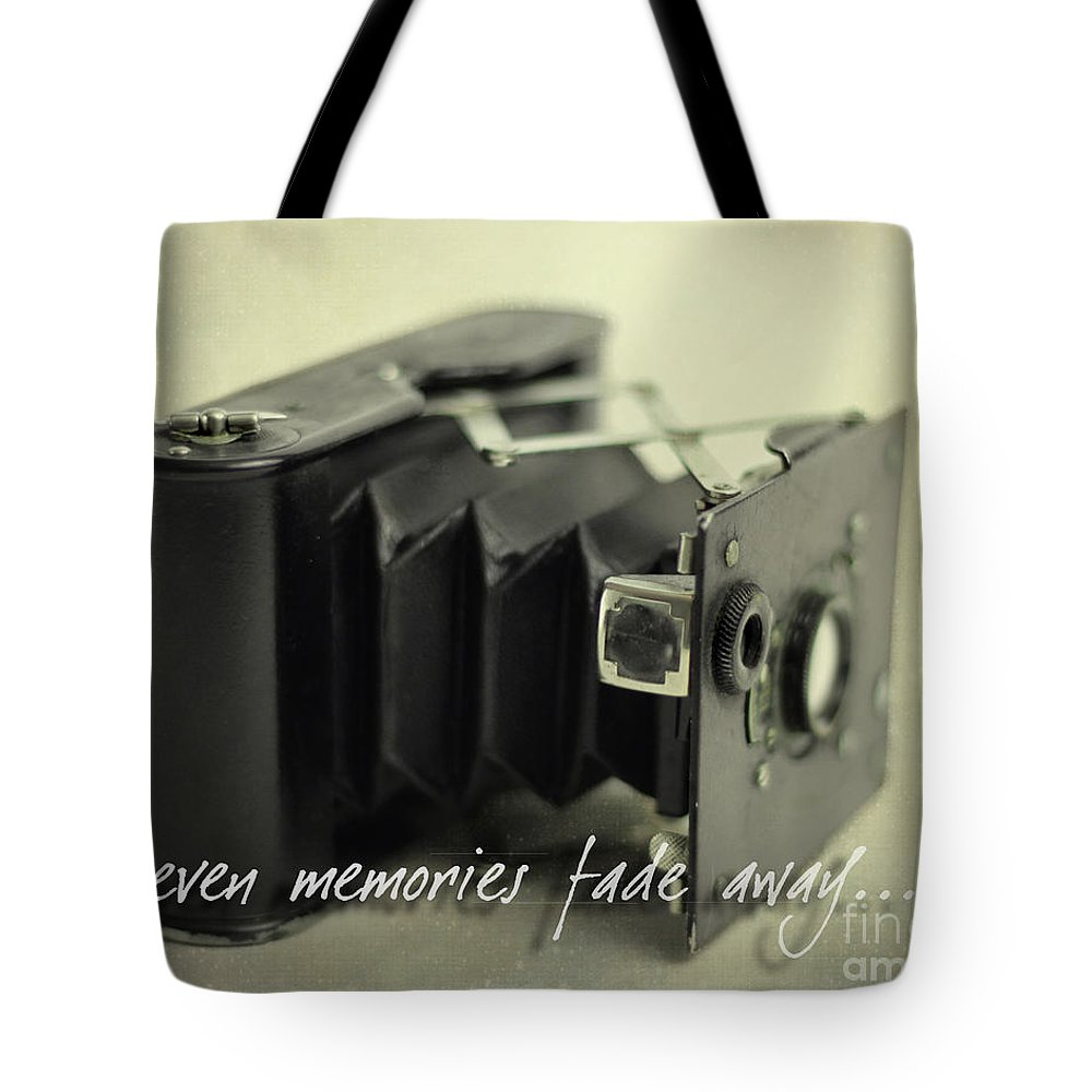 Vintage Tote Bag featuring the photograph Even Memories Fade Away by K Hines