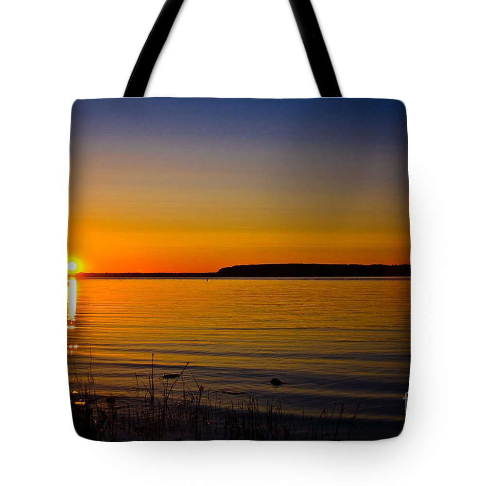 Andrew Slater Photography Tote Bag featuring the photograph Evening Peace by Andrew Slater