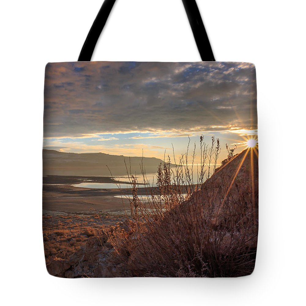 Gigimarie Tote Bag featuring the photograph Evening Star by Gina Herbert