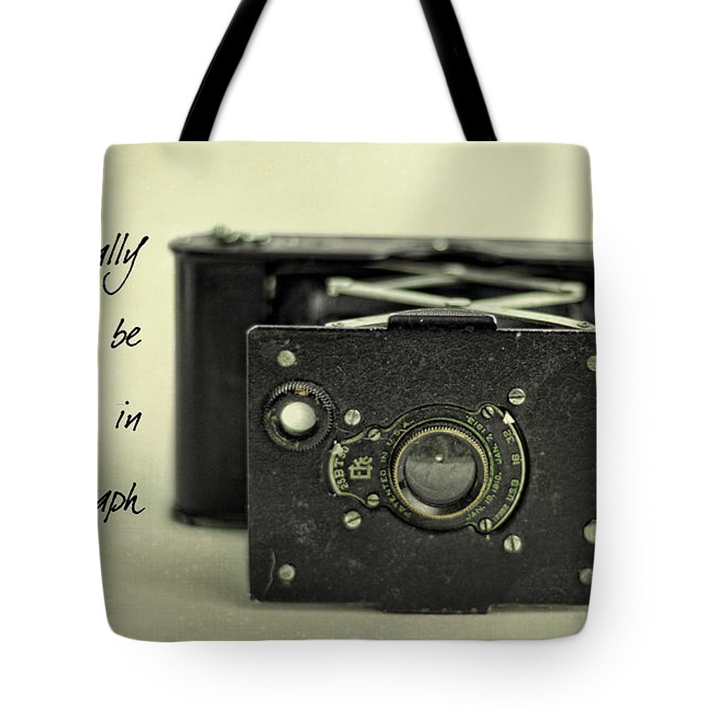 Vintage Tote Bag featuring the photograph Eventually... by K Hines
