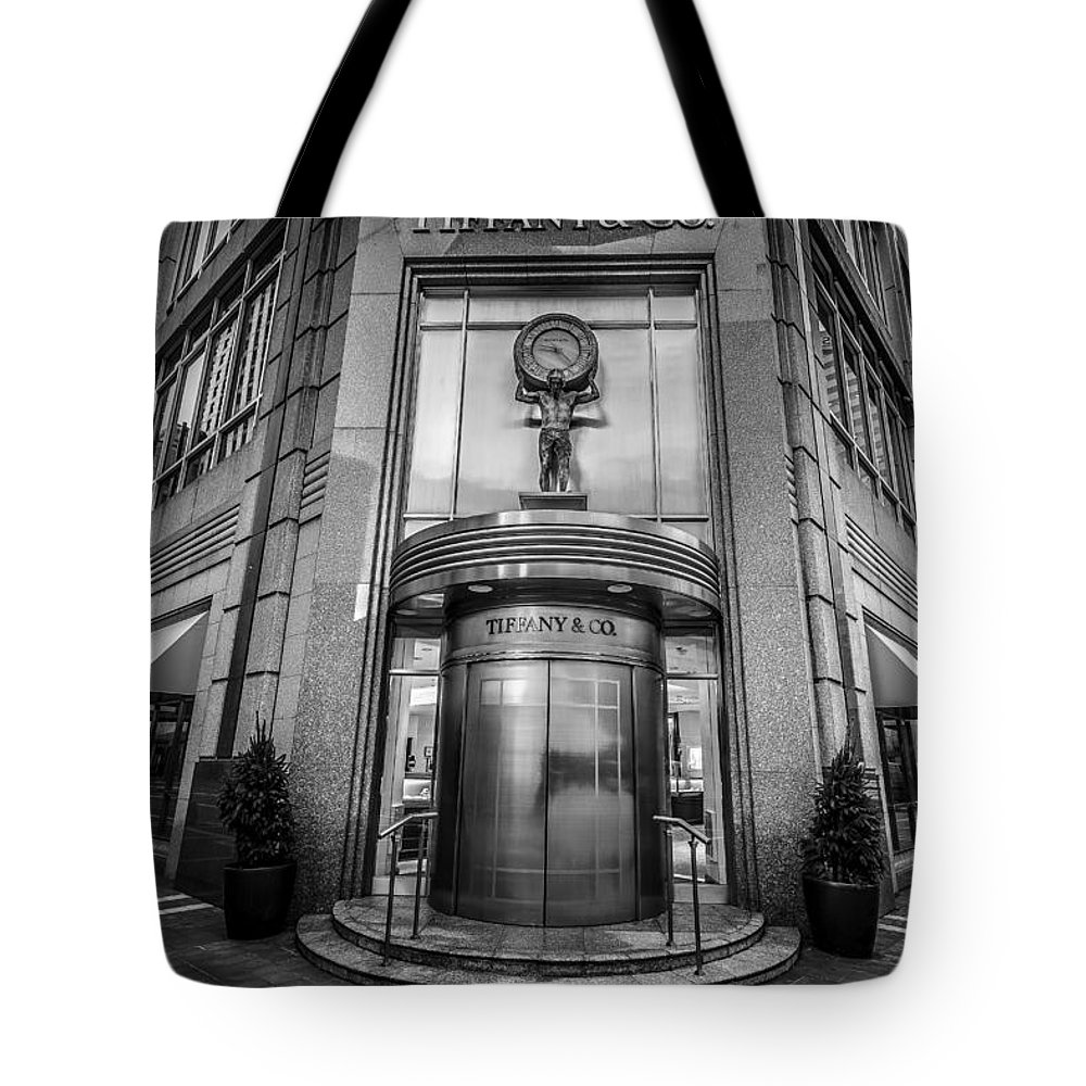 Black And White Tote Bag featuring the photograph Every Womans Dreams by Keith Allen