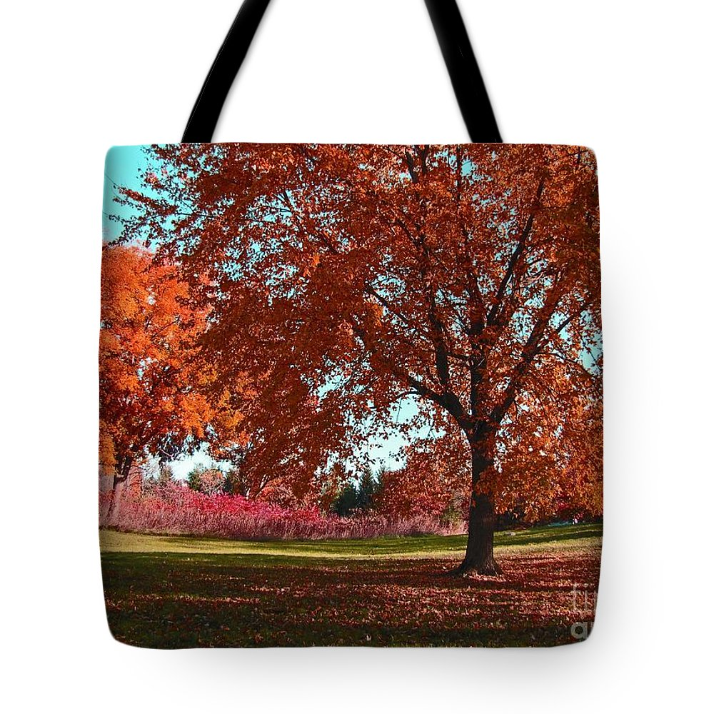 Autumn Tote Bag featuring the photograph Every Year I Miss Autumn After It Is Over by Adri Turner
